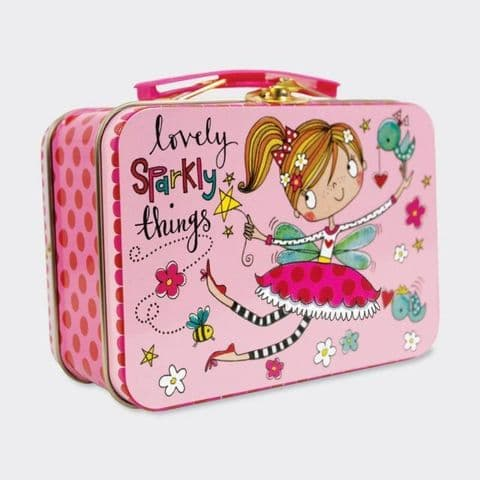 Lovely Sparkly Things Pink Fairy Mini Carry Case